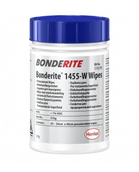 Bonderite wipes ( BONDERITE M-NT 1455-W BX6*1 ML )